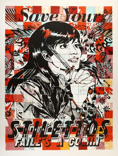 FAILE, 'Save Stilettos', 2012