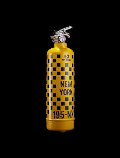 Jaler Fine Art, 'Extinguisher Design New York - Yellow & Black', 2021