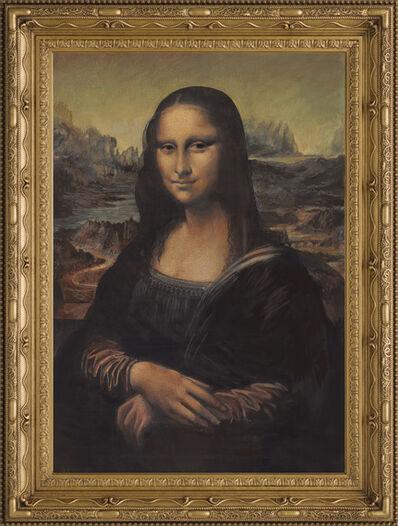 John Myatt, 'Mona Lisa in the Style of Leonardo Da Vinci', 2017