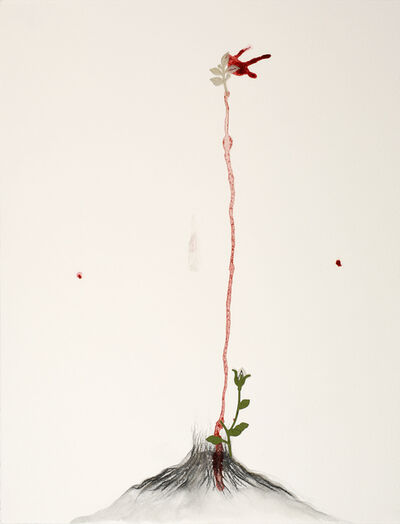 Mithu Sen, 'Tongues that won't stop wounding 1', 2014