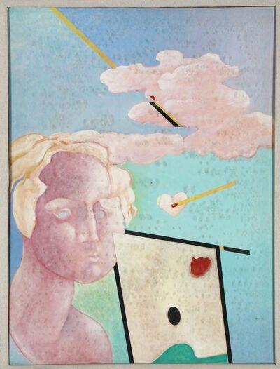 Roberto Martone, 'Allegoria della pittura', 1970
