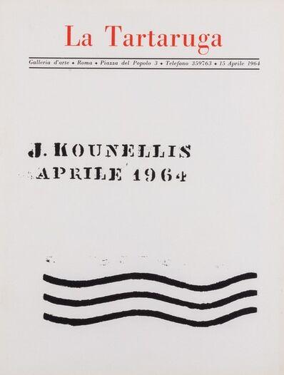 Jannis Kounellis, 'J. Kounellis', 1964