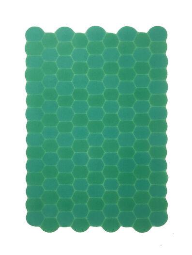 Dong Dawei, 'Rippling-Hexagonal Rippling S1', 2017