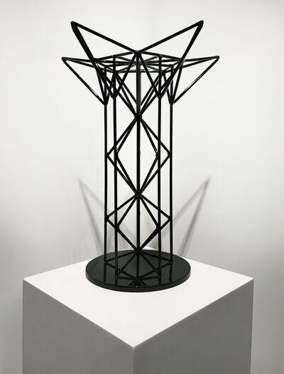 Hernan Gomez Chavez, 'Black Stellated Tower, Trophy Series 2/4', 2017