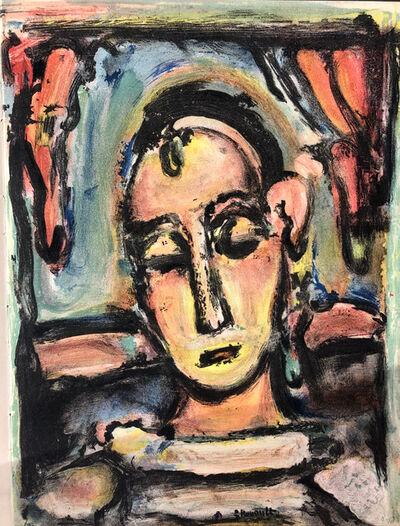 Georges Rouault, 'Tête de jeune fille', 1939