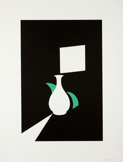 Patrick Caulfield, 'Lung Ch'uan Ware and Window', 1990