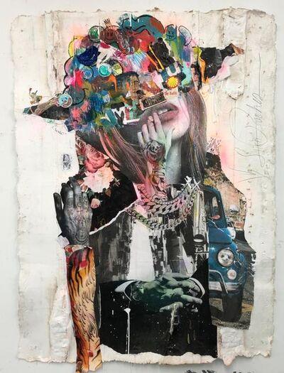 Stikki Peaches, 'Moss Bot 3030 - Napoli', 2019