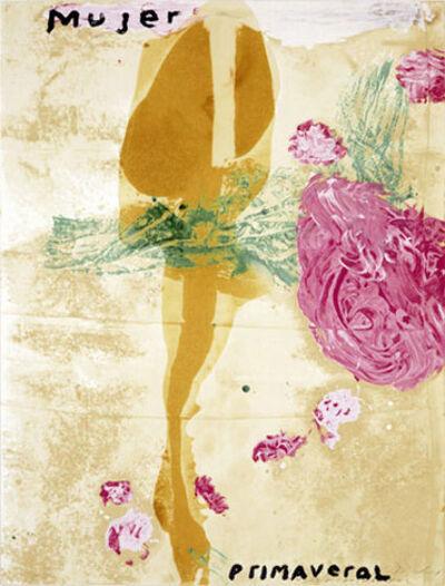 Julian Schnabel, 'Mujer', 1995
