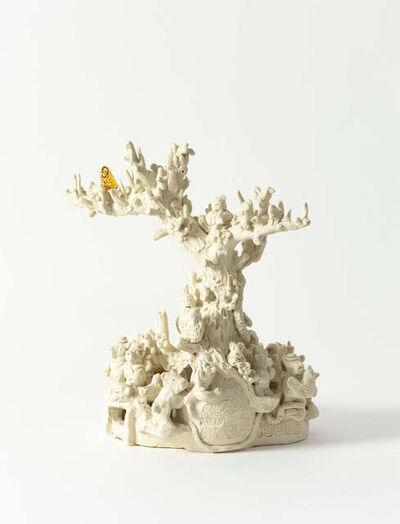 Jeffry Mitchell, 'Golden Owl Tree', 2019