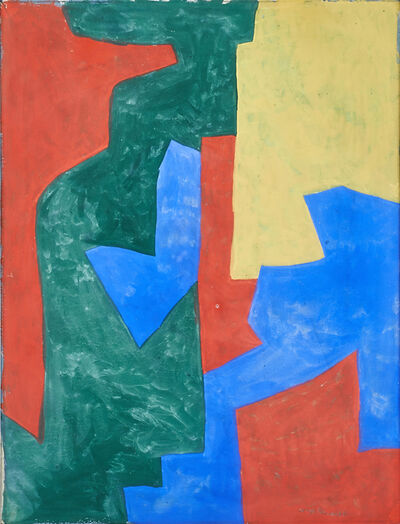 Serge Poliakoff, 'Untitled'