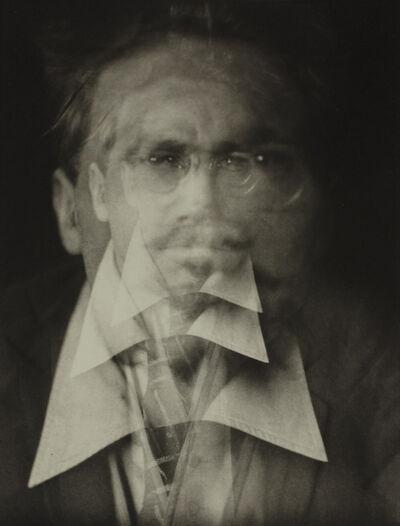 Alvin Langdon Coburn, 'Vortograph of Ezra Pound', 1917