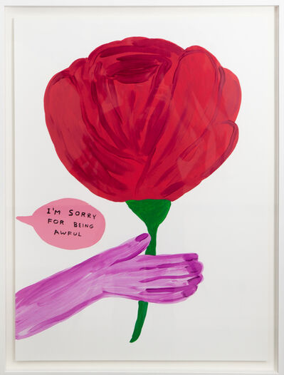 David Shrigley, 'Im Sorry For Being Awful ', 2018