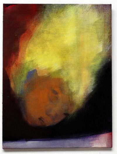 Leiko Ikemura, 'Floating Head (yellow)', 2008