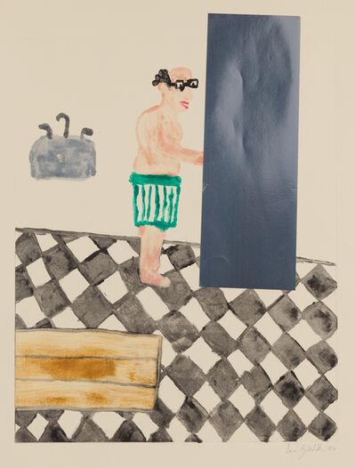 Sara Zielinski, 'Man and Fridge II', 2016