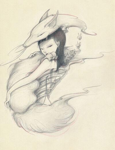 Ozabu, 'Kitsune Sketch 2', 2019