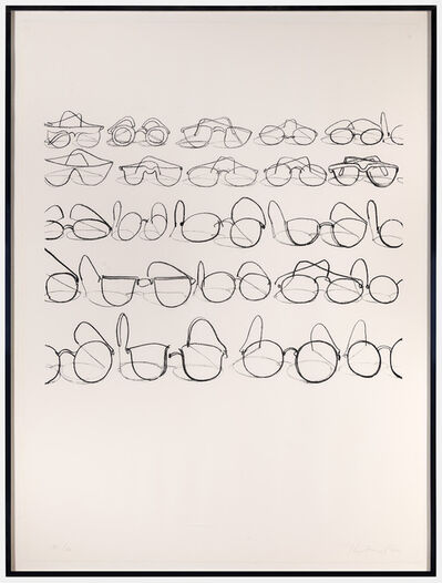Wayne Thiebaud, 'Glasses (from Seven Still Lifes and a Rabbit)', 1971