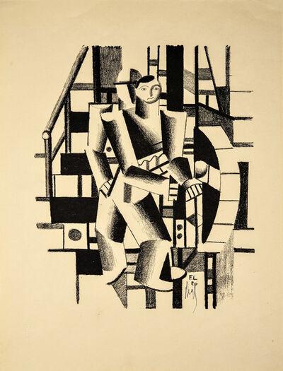 Fernand Léger, 'Composition aux deux Personnages', 1920