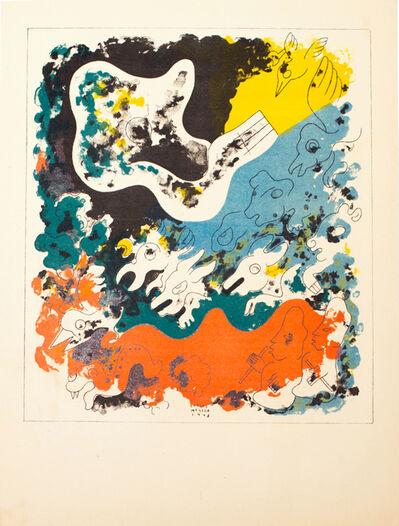 Carlos Merida, 'Estampas de Popol Vuh (Plate III)', 1943