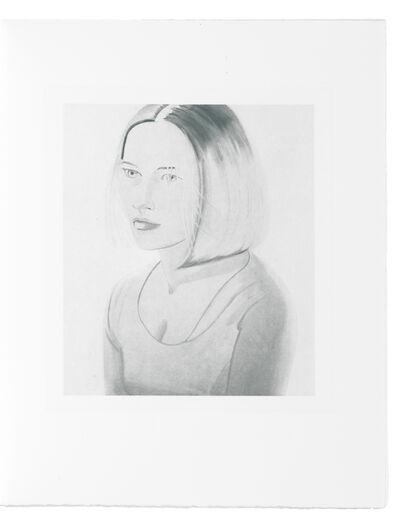 Alex Katz, 'Six female portraits', 2004