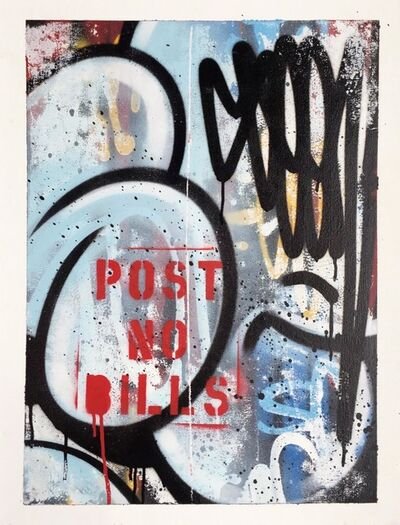 SEEN, 'PNB RAW Bubble series – Post no Bills', 2018