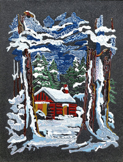 Cham Hendon, 'House in The Woods, Tahoe', n.d.