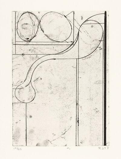 Richard Diebenkorn, 'Six Softground Etchings, #1', 1978