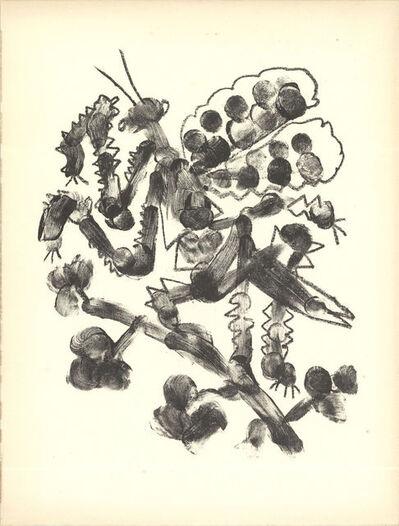 Pablo Picasso, 'Pablo Picasso De Memoire D'Homme VI Mourlot', 1950