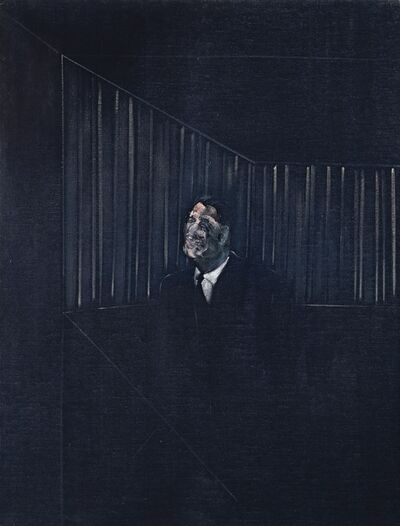 Francis Bacon, 'Man in Blue VII', 1954