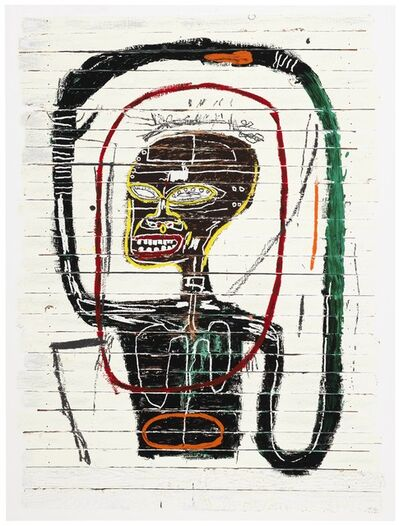 Jean-Michel Basquiat, 'Flexible', 1984