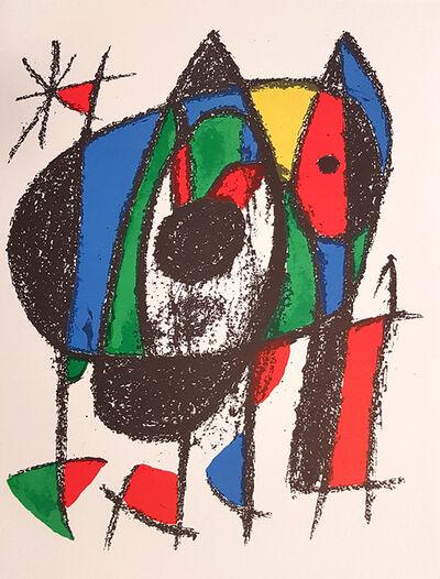 Joan Miró, 'Mirò Lithographe II - Plate V', 1975