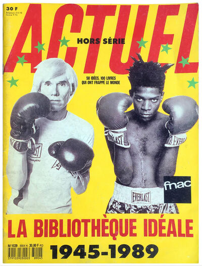 Andy Warhol, 'Actuel 1989 Warhol Basquiat Boxing feature ', 1989