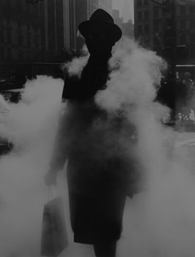 Arthur Tress, 'Man in steam, NY', 1968