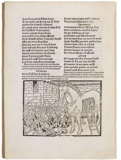 Anonymous, 'Jacques Millet: 'La destruction de troye la grant'', 1490
