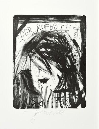 Jonathan Meese, 'Die Saalgöttin', 2003