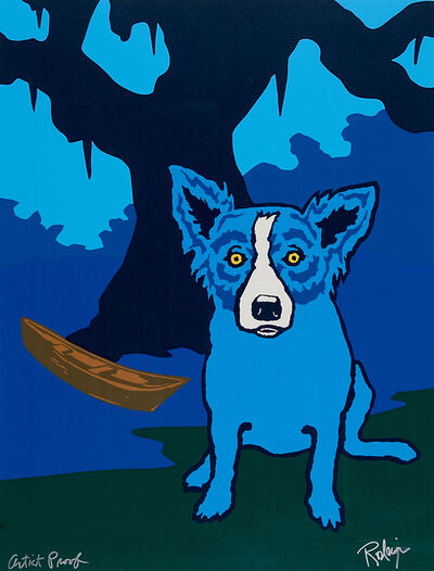 George Rodrigue, 'Row with me Henry', 1995