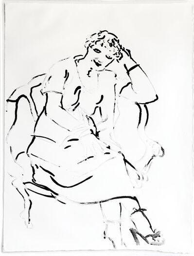 David Hockney, 'Celia enquiring', 1979