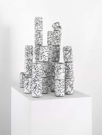 Libia Castro and Ólafur Ólafsson, 'Your Country Doesn't Exist (cans)', 2004