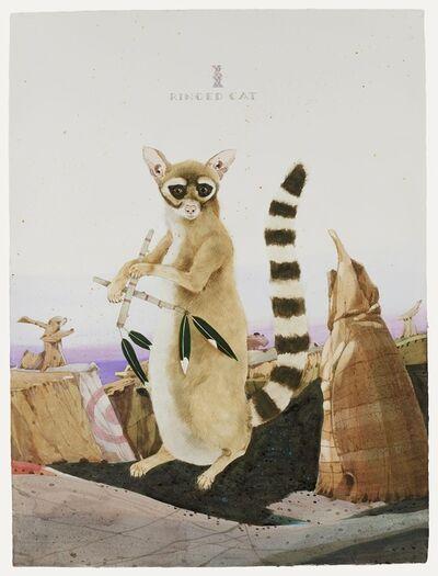 Scott Kelley (b. 1963), 'Ringed Cat - The Ah-Shi-Sle-Pah Orchestra', 2021