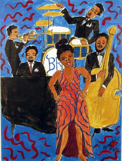 Faith Ringgold, 'Jazz Stories #8: Don't Wanna Love You', 2004