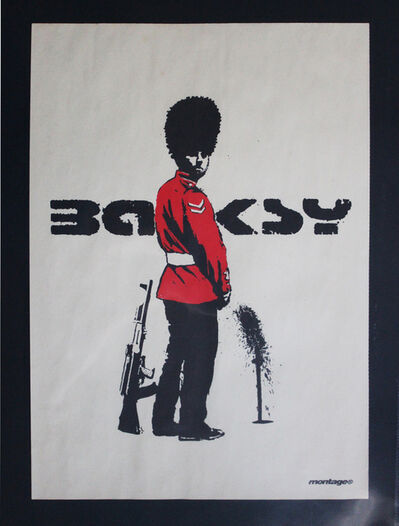 Banksy, 'Queens Guard poster', 2002