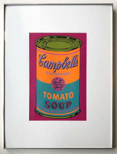 Andy Warhol, 'Campbell's Soup Can (Tomato) ', 1968