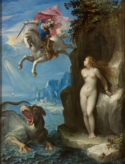 'Perseus and Andromeda', ca. 1592