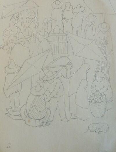 Diego Rivera, 'Tianguis'