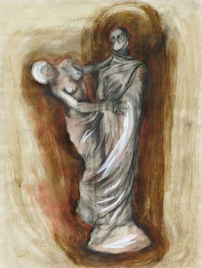 Estrella Carmona, 'Estudio para Byron en Grecia', 1995