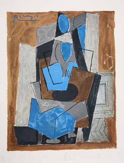 Pablo Picasso, 'Femme Assise, 1919', 1979-1982