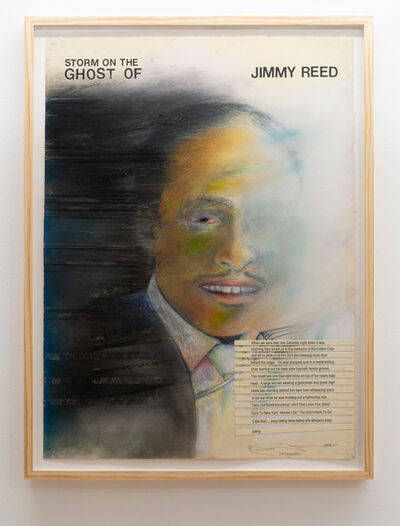 Terry Allen, 'Storm on the Ghost of Jimmy Reed', 2019