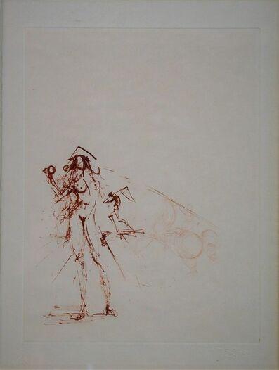 Salvador Dalí, 'Les Amours de Cassandre. Sepia', 1968