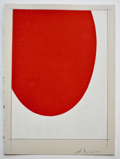 Scott Ingram, 'Saarinen Table (red/white)', 2010