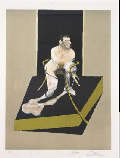 Francis Bacon, 'John Edwards', 1987