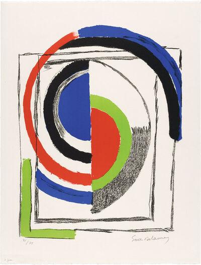 Sonia Delaunay, 'À JOUR', circa 1970